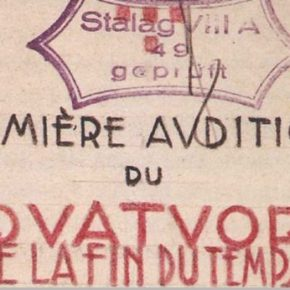 Olivier Messiaen and his Holocaust music - A study of third house matters