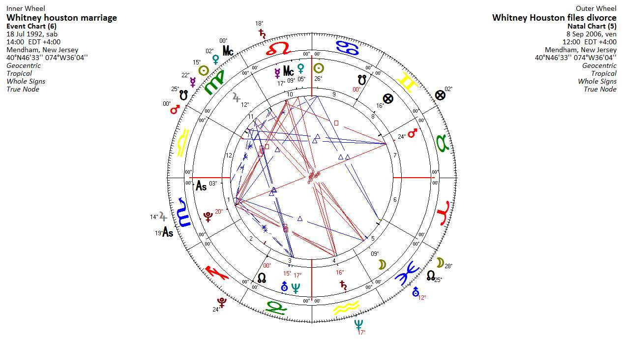 Whitney houston and her relationships tania daniels astrologer as we know the marriage was difficult and whitney filed for divorce on sept 8 2006 nvjuhfo Choice Image
